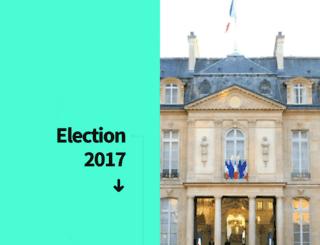 elections-presidentielles-2017.fr screenshot