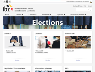 elections.fgov.be screenshot