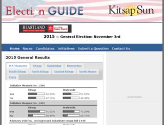 elections.kitsapsun.com screenshot