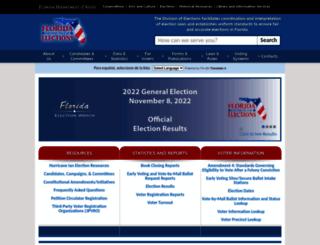 elections.myflorida.com screenshot