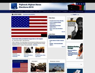 elections.pajhwok.com screenshot