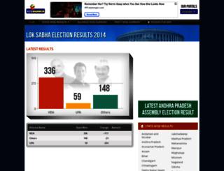 elections.webdunia.com screenshot