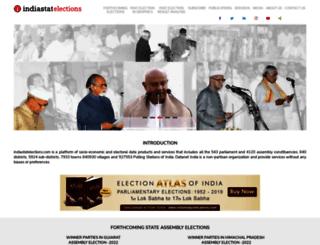 electionsinindia.com screenshot