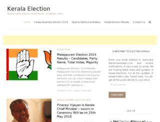 electionskeralam.com screenshot