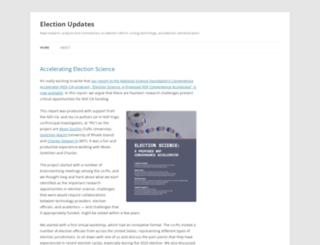 electionupdates.caltech.edu screenshot