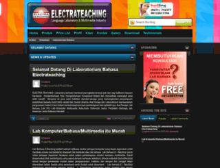 electrateaching.com screenshot