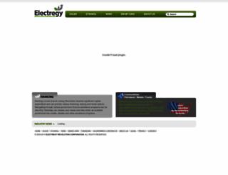 electregy.com screenshot