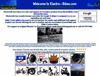 electric-bikes.com screenshot