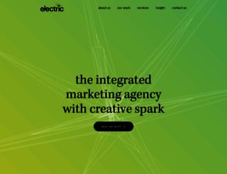 electric-design.co.uk screenshot