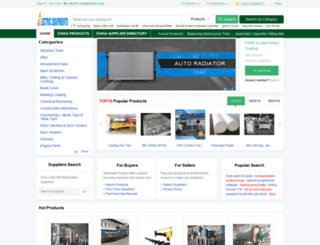 electric-equipments.com screenshot