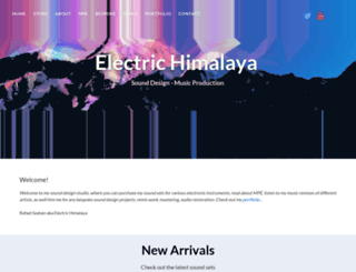 electric-himalaya.com screenshot
