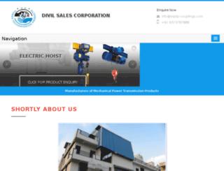 electric-hoist.co.in screenshot