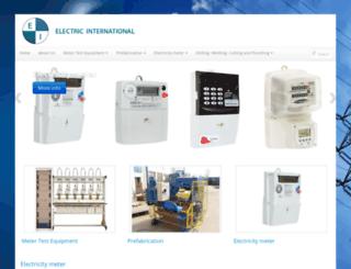 electric-international.com screenshot