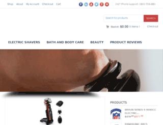 electric-shavers.info screenshot