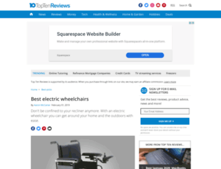 electric-wheelchairs-review.toptenreviews.com screenshot