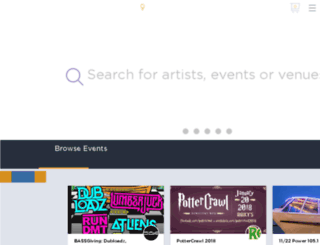 electricadventure.wantickets.com screenshot