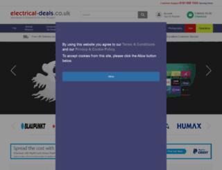 electrical-deals.co.uk screenshot