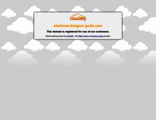 electrical-designer-guide.com screenshot