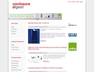 electrical-enclosures.co.uk screenshot