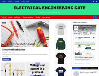 electrical-gate.blogspot.com screenshot