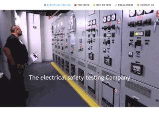 electrical-testing-safety.co.uk screenshot