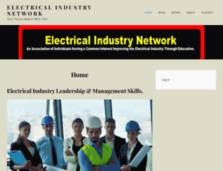 electricalindustrynetwork.com screenshot