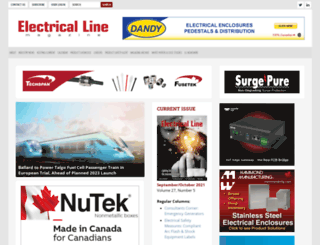 electricalline.com screenshot