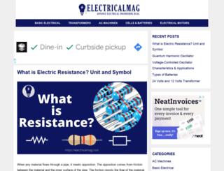electricalmag.com screenshot
