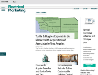 electricalmarketing.com screenshot