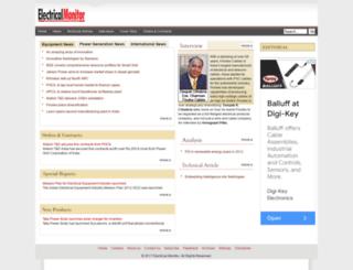 electricalmonitor.com screenshot