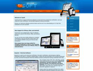 electricalsoftware.co.uk screenshot
