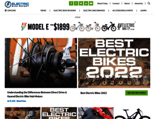 electricbikereport.com screenshot