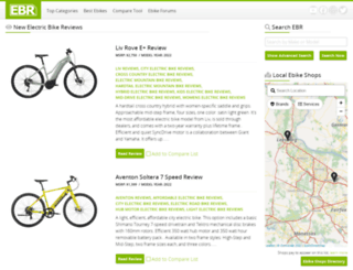 electricbikereview.com screenshot