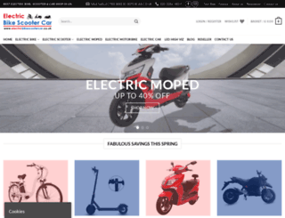 electricbikescootercar.co.uk screenshot