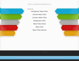 electriccordlesswaterkettle.com screenshot