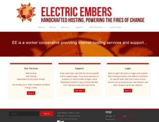 electricembers.net screenshot