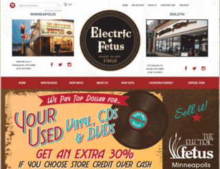 electricfetus.tuneportals.com screenshot