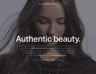 electricfoxy.com screenshot