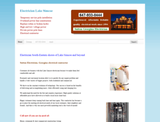 electrician-lake-simcoe.blogspot.ca screenshot