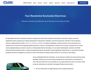 electrician-scottsdale.com screenshot