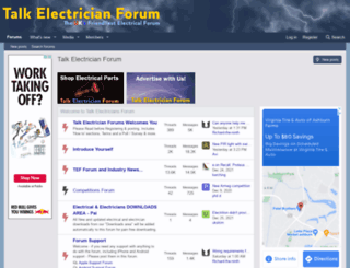 electricianforum.co.uk screenshot