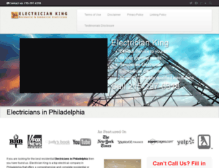 electriciansinphiladelphia.net screenshot