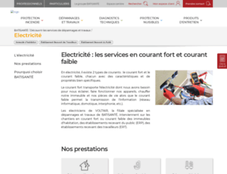 electricien.com screenshot