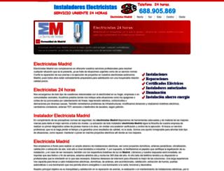 electricistas-24horas.com screenshot