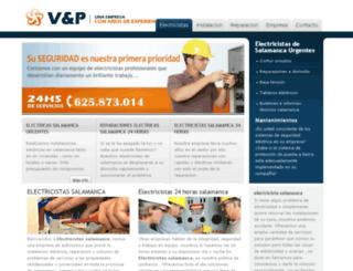 electricistasensalamanca.es screenshot