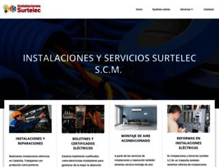 electricistasmadridsurtelec.com screenshot