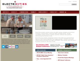electricities.org screenshot