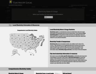 electricitylocal.com screenshot
