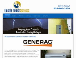 electricpowerservices.net screenshot