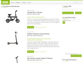 electricridereview.com screenshot